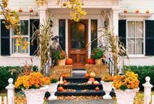 Fall and Halloween Decor / by Patricia Davis Brown
