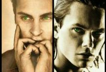 RIVER AND JOAQUIN PHOENIX / by Laurence Stefani