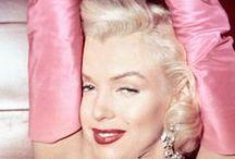 Iconic movie stars and celebrities / Marilyn Monroe, Ava Garner, Audrey Hepburn, Sophia Loren and cie / by elegantes75