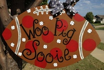 WOO PIGS!!!!! Football / by Courtney Lloyd