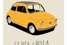 Fiat 500 / by Gato con Botas y Yo