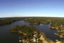 Soaring Above Lake Oconee / A Few Exampoles From Our Aerial Videography / by Jonathan and Alyce Vining