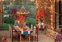 FALL in Love with Lake Oconee / Fall Decor, Lake Living, Fall Season / by Jonathan and Alyce Vining