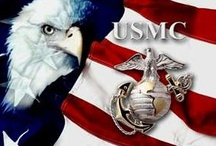 Marines♥ / Next to the Navy, I love the Marines. I love all the branches of military!♥ / by Rebekah Brooks
