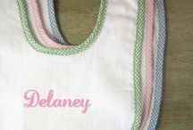 Beautiful Bibs / Fun & functional bibs! Your little one will look stylish & kept clean with a trendy personalized baby bib. / by Baby Be Hip