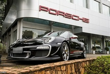 car brand PORSCHE / by Simon Proteau