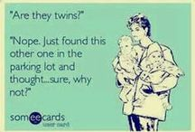 Seeing Double --TWINS! / Double blessings, double joys, twice the laughter, twice the noise!  / by Baby Be Hip