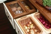 Organize - Kitchen / by Andrea Bassett