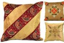 Unique Pillow Covers / Fun and unique pillow covers to transform your home :) / by Banarsi Designs