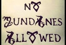 Shadowhunters / by Coco C