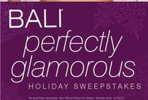 Perfectly Glamorous Holiday / Divine dresses, dreamy interior accessories, baubles that take your breath away....and the new BALI Perfectly Glamorous Minimizer Bra, which makes holiday outfits look absolutely stunning. Here are some of our festive favorites to inspire your own perfect holiday. / by Bali Intimates