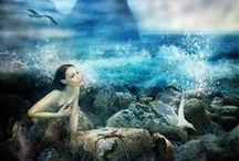 Mermaids & Selkie and the Sea / by Christine Amato