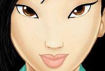 The Girl Worth Fighting For: Mulan / Li Shang + Fa Mulan = <3 / by Clara Grismer
