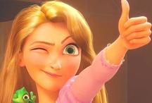 The Girl With a Dream: Rapunzel / Flynn Rider (Eugene Fitzherbert) + Rapunzel = <3 / by Clara Grismer