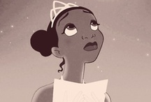 The Princess Frog: Tiana / Prince Naveen + Tiana = <3 / by Clara Grismer