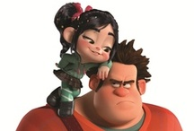 The Bad Guy Who Could Wreck It / Ralph + Vanellope = :) Felix + Sergeant Calhoun = <3 / by Clara Grismer