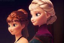 Frozen! <3 / Kristoff + Anna = <3 / by Clara Grismer