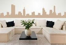 Places Wall Stickers / From famous icons to beautiful cityscapes, we have a stunning collection of people and places wall stickers.  Featuring skylines of major cities, such as New York and London, our places wall stickers are a fantastic way to decorate a room without having to pay any expensive bills. / by Icon Wall Stickers