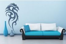 Fantasy Wall Stickers / Transform your home in to a magic wonderland with our fantasy wall stickers. We have dragons, angels, monsters and many more to choose from. / by Icon Wall Stickers