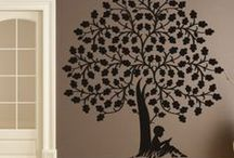Nature Wall Stickers /  At Icon Wall Stickers we have an extensive range of Floral & Tree Wall Art Stickers, our Nature collection will brighten up any room in your home. Our nature Stickers Collection contains a wide range of designs including Floral Animals, Floral Shapes, Floral Corners, Flowers and Trees / by Icon Wall Stickers