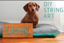Doggy Decor / We love dogs! Why stop at the real thing? Whether you're modern or vintage, traditional or eclectic - dog accents are always a chic addition to your decor.  / by If It Barks