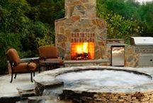 fire pits, garden furniture & outdoor goodies / by michelle