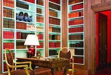 Book it / Lovely libraries...  nothing looks better in bookshelves than books! / by Horton Design Associates