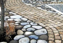 ❥ Gลrdeη ƒlooґ ❥ / Garden floor possibilities. See also 'Strolls and Steps', 'Stunning Stone' 'Groundcovers',and 'Pebble Mosaics' / by ✿⊱ ᎷᎯᏒᎥᏖᏕᎯ'Ꮥ ᎶᎯᏒᎠᎬN ⊰✿
