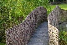 ✣ Wicкeʀ ♯ wiʟʟow ₪ / Garden structures made of wicker or willow / by ✿⊱ ᎷᎯᏒᎥᏖᏕᎯ'Ꮥ ᎶᎯᏒᎠᎬN ⊰✿