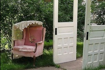doors / by Shannon Olson -A Southern Belle With Northern Roots/Junkflirt