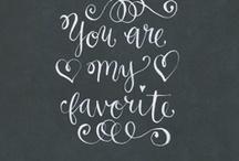WORDS I LOVE / by Jenna Crandall