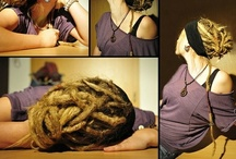 dread hairstyles / by Clare Raney