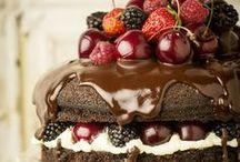 Chocolate cakes & deserts / by Maya Sagi Grossman