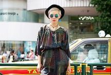 Japanese Fashion / Japanese famous - old and new - has always been eye-catching and inspiring! → Visit us @ www.boutiquejapan.com / by Boutique Japan Travel Company