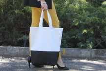 Tutoriales de bolsos DIY. / Cómo hacer bolsos. Blog de moda, costura y diy. Handmade. Craft. / by Oh, Mother Mine!!