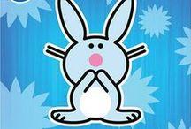 Happy Bunny / by Angie Strum