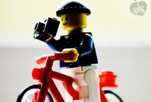 Cool people on bikes / Famous, stylish and otherwise cool people riding their bikes. / by Crescent Suomi