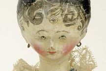 Art / Craft… Wooden Dolls.... / Antique and vintage wooden dolls... / by Rosalyn Smaill