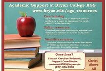 Study Tools and Tips / Your one-stop resource on study tools / by Bryan College AGS