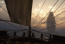 A Pirates Life / Pirates, ships, masts, sails, rum, sea, wind, privateers... / by Alina