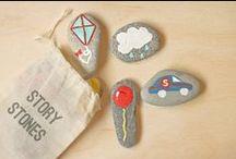 {diy + stones} / by Mme Gateaux