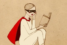 {reading mania} / by Mme Gateaux