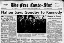 Historic Headlines  / Here are front pages from important days in history.  / by fredericksburg.com