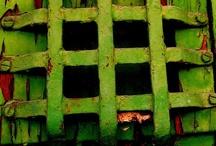 rust, decay, peeling paint II / by Pat Carr