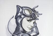 Comic heroes / by Horstman Maassen / Wicked Sheila