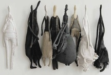 figurative sculpture I / by Pat Carr