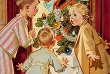 HOW WE LOVED CHRISTMAS (JOYOUS MEMORIES FROM THE 40'S, 50'S AND 60'S!) / RETRO CHRISTMAS / by Jill