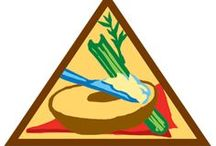 Brownie Snacks Badge Ideas / Requirements for Snacks Brownie Badge--  Step 1: Jump into the world of snacks.  Step 2: Make a savory snack.  Step 3: Try a sweet snack.  Step 4: Snack for energy.  Step 5: Slurp a snack. / by Brownie Girl Scout Badges