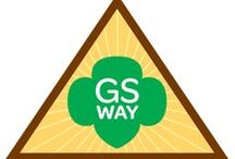 Brownie Girl Scout Way Badge Ideas / Requirements for Brownie Girl Scout Way Badge--  Step 1: Sing everywhere.  Sep 2: Celebrate Juliette Low's birthday.  Step 3: Share sisterhood.  Step 4: Leave a place better than you found it.  Step 5: Enjoy Girl Scout traditions. / by Brownie Girl Scout Badges