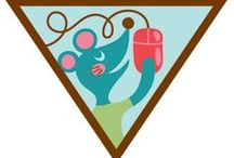 Brownie Computer Expert Badge Ideas -- / Requirements for earning the Brownie Computer Expert Badge Step 1: Paint or draw something with an art program. Step 2: Find some cool facts. Step 3: Take a trip online.  Step 4: Make a connection. Step 5: Have more computer fun. / by Brownie Girl Scout Badges